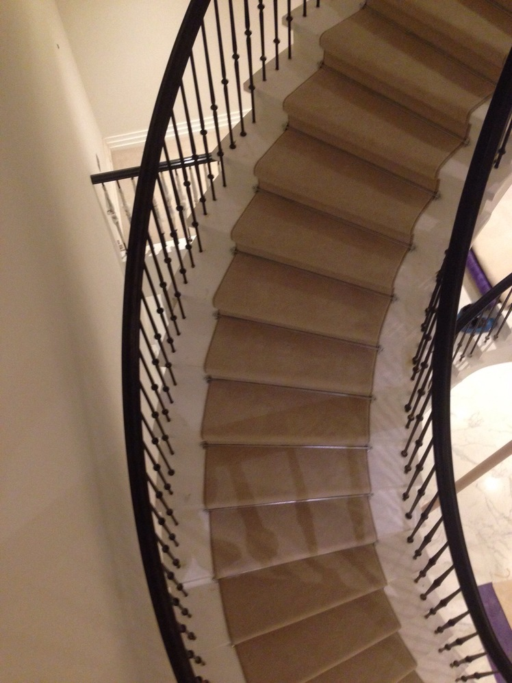 stair, runner, rods, velvet, carpet